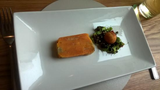 Powfoot, UK: Butternut Terrine Starter