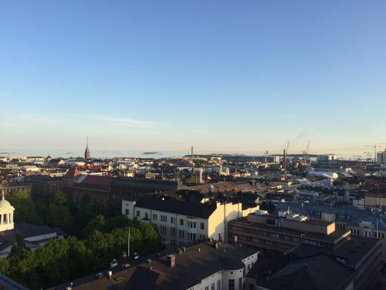 View over Hesinki harbor from Atajee bar - Picture of Ateljee Bar, Helsinki - TripAdvisor