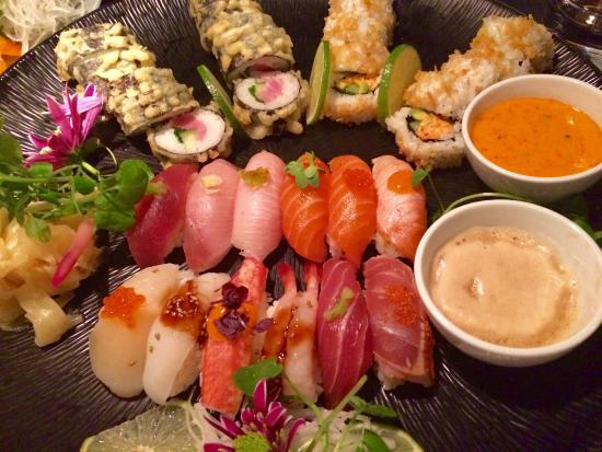 Ljunggren: Fräsch sushi där kocken fick lite fria händer
