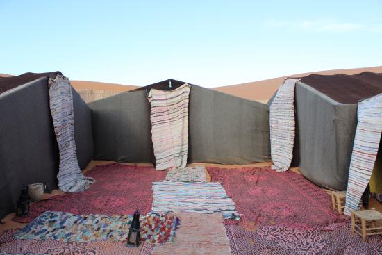 traditional berber tents for those who take the camel trek picture