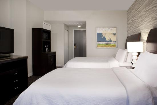 Hilton Garden Inn Austin Downtown/Convention Center: Double Bed
