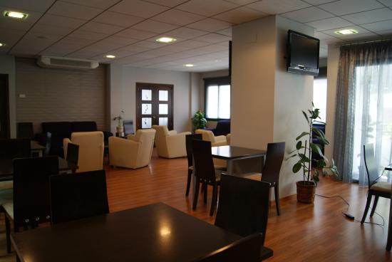 Hotel Balneario de Fuencaliente: Bar y sala de estar