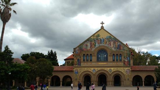 Palo Alto, Kaliforniya: Stanford memorial church