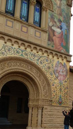 Palo Alto, Kaliforniya: Stanford church