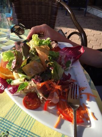Sasbachwalden, Alemania: Kleiner Feiner Salat
