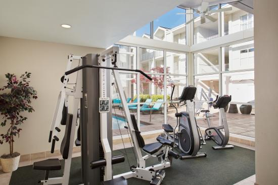 Corporate Inn Sunnyvale: Fitness Area