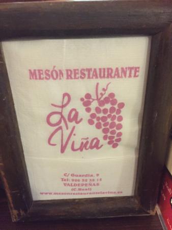 Restaurante Meson La Vina: photo1.jpg