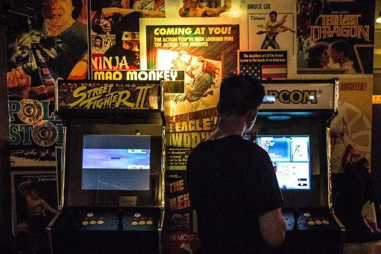 PimpShuei: Retro arcade fun on our multi-games cabinets!