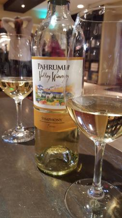 Pahrump, NV: Symphony Wine - Wine of the month