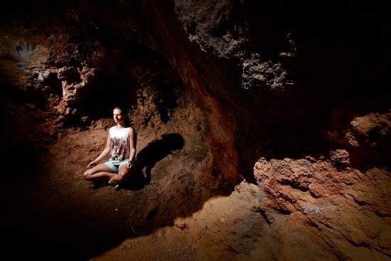 Alhaurin el Grande, สเปน: Grotte tæt på Casa de Laila - Yogaferie med naturlig-rytme.dk