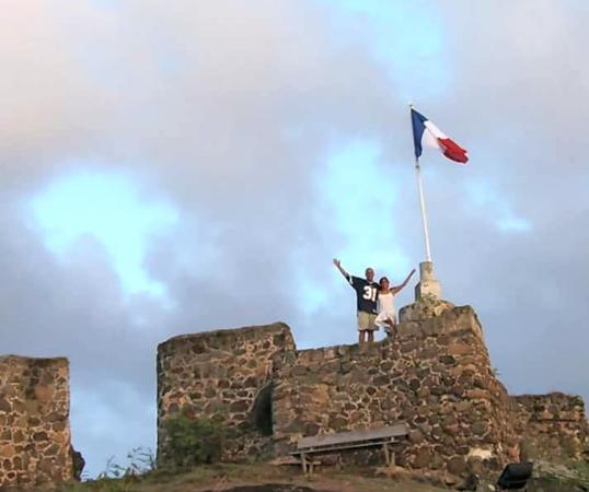 Marigot, St. Maarten: juntos en francia