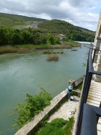 Ibero, España: view from Garden Room balcony