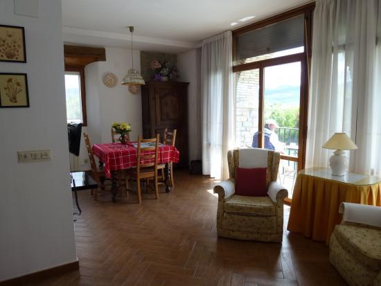 Ibero, España: view from living room to balcony