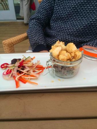 Garrack Restaurant: Calamari starter