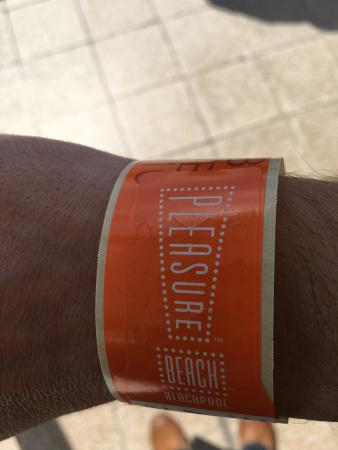 Blackpool Pleasure Beach Wristband