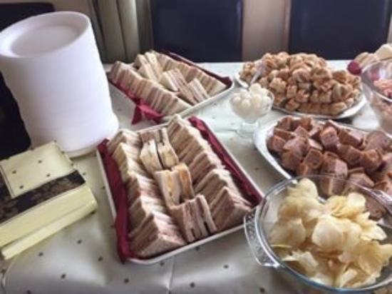 Oswestry, UK: One of our delicious buffets!