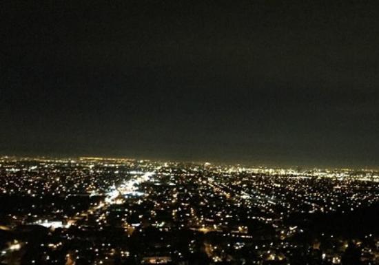 Pemandangan Indah Di Malam Hari Picture Of Orange Hill
