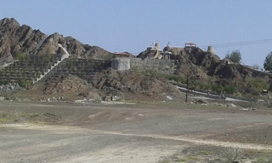 Emirate of Ajman, Vereinigte Arabische Emirate: A fort in a mountain