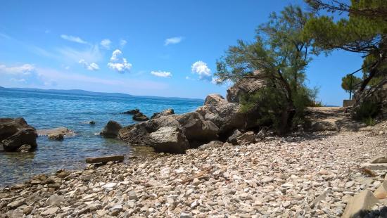 Stobrec, Kroatien: The water is so clear