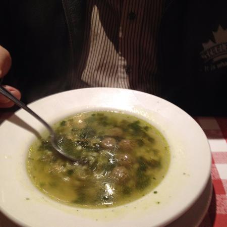 East Side Mario's: italian wedding soup