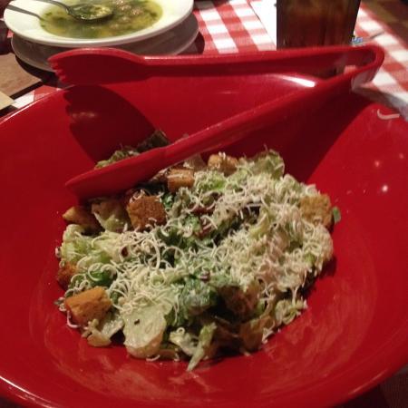 East Side Mario's: ceasar salad