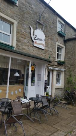 Kettlewell, UK: front entrance to the guest house