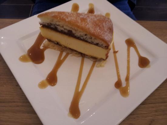Clondalkin, Irlanda: Salted caramel arctic slice