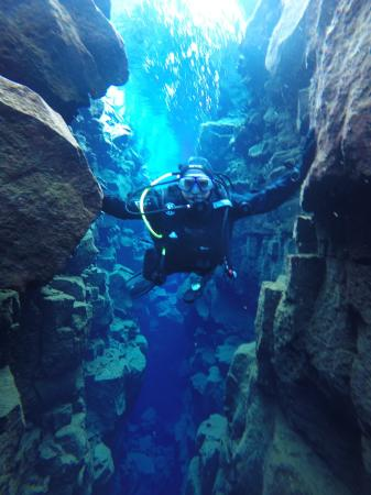 Hafnarfjordur, Islandia: dive in Silfra