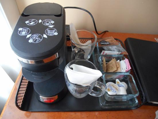 Sylvia Hotel: Love this coffee maker!
