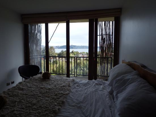 Arrebol Patagonia Hotel: Esta es la vista desde la habitación, encantadora!