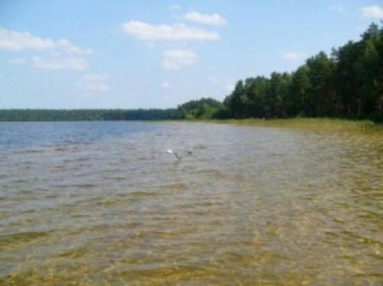 Пляж святое озеро 18