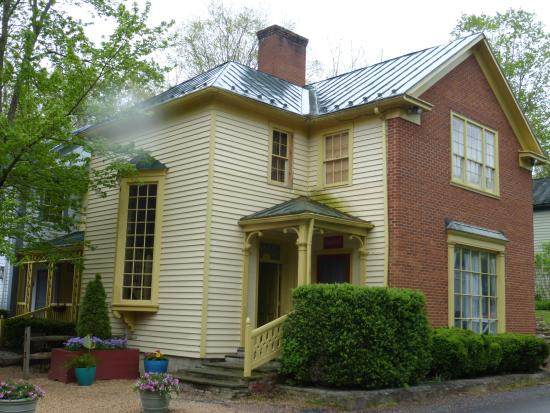 Warm Springs, VA: the Buildings at the Inn Where Our Room Was Located