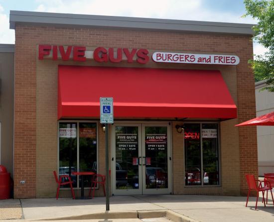 Warrenton, VA: Five Guys