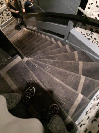 Hotel Hermitage Amsterdam : una delle tante scale
