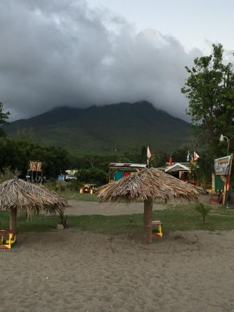 Nevis: Great lobster!  Great view!