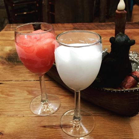Sugarland Cellars Winery: Wine slushies!