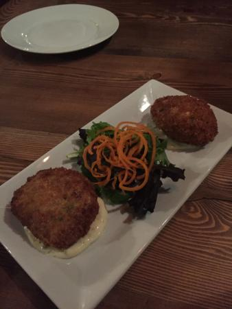Prince George, Canadá: crab cakes