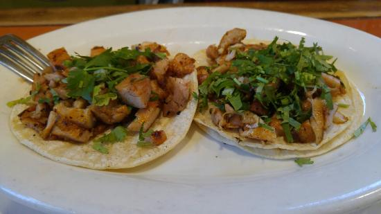 Federal Way, Waszyngton: 2 chicken tacos without onions