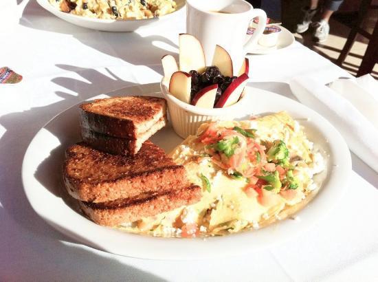 Liberty, MO: Farmer's omelette (veggie)