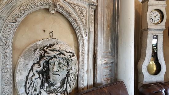 Old World Antieks: Plaster 3 D Face Of Judas?