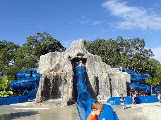 Tweed Heads, Australia: Waterslids - adult fun at it best