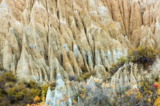 Omarama, Nieuw-Zeeland: Clay Cliffs