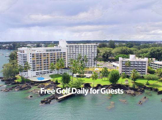 Hilo Naniloa Hotel: Free Golf Daily!