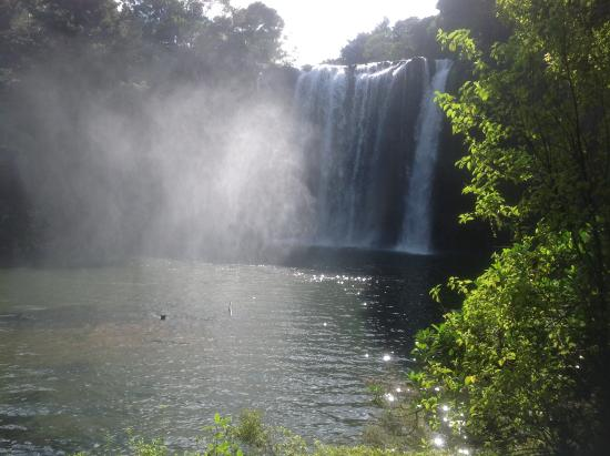 Kerikeri, New Zealand: The Rainbow Falls.