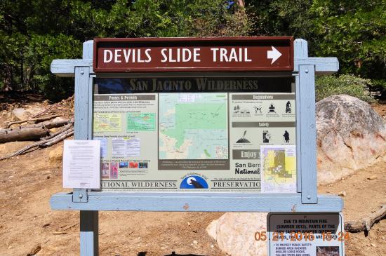 Idyllwild, CA: Hiking Trail info