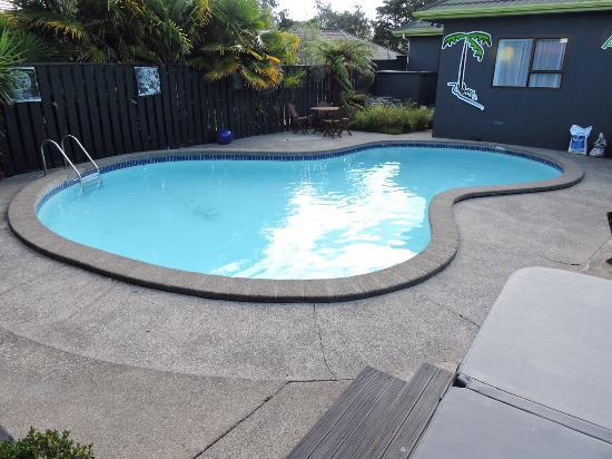 Whanganui, Νέα Ζηλανδία: Outdoor pool and Spa