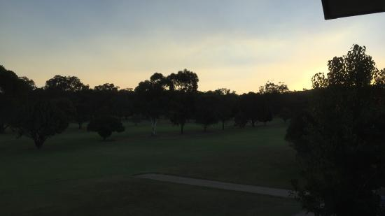 Cootamundra, Australia: Just about sunset