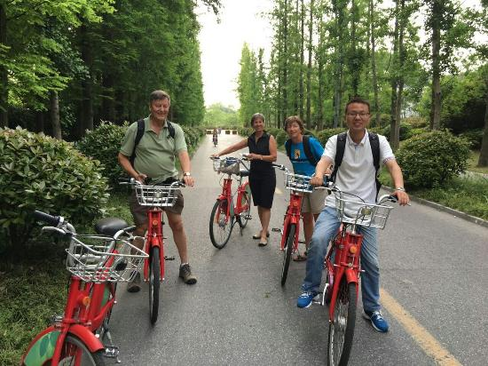 Yangzhou, Kina: Bike Tour