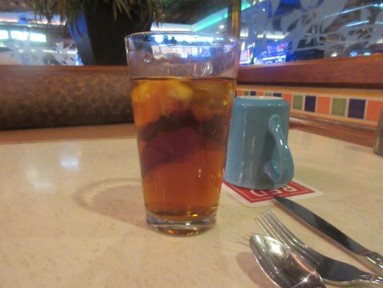 Ice Tea, The Coffee Garden Restaurant, Elko, Nevada