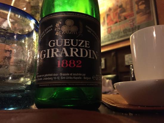 Pouancay, Frankrike: Restaurant Tresor Belge